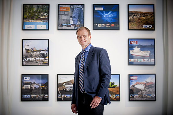 Philippe de Moerloose, a leading entrepreneur in Africa