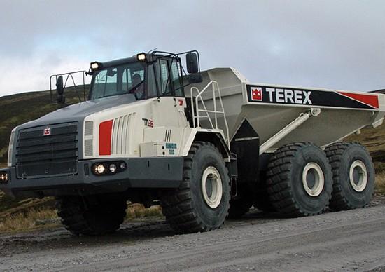 Les engins de chantier Terex Trucks