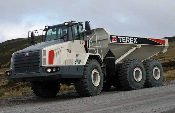 Les engins de chantier Terex Trucks
