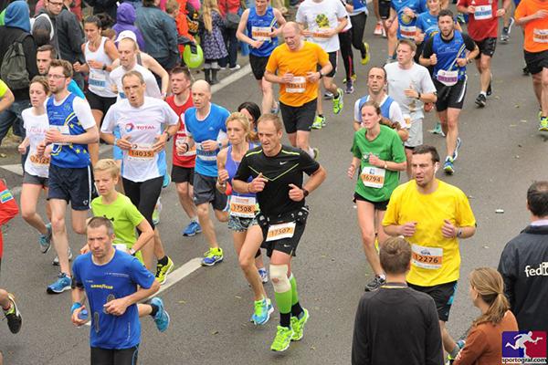Philippe de Moerloose participe aux 20km de Bruxelles 2015