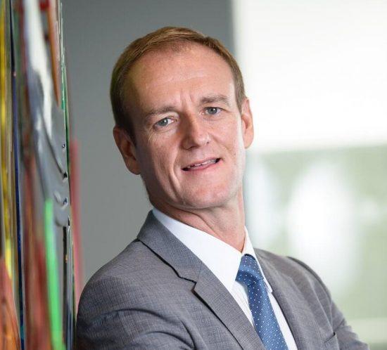 Portrait de Philippe de Moerloose par l'ICHEC Alumni