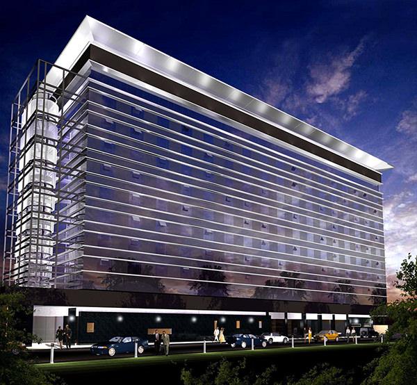 Le Grand hôtel de Kinshasa