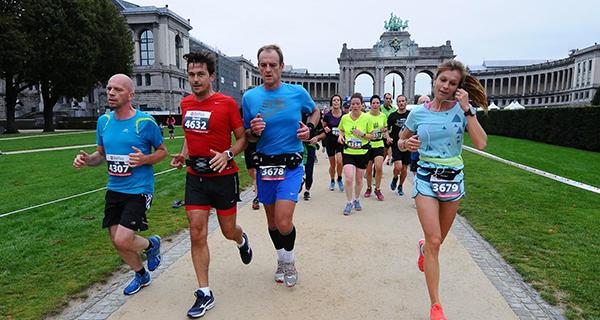 Philippe de Moerloose au marathon de Bruxelles 2014