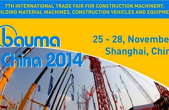 Salon Bauma China 2014