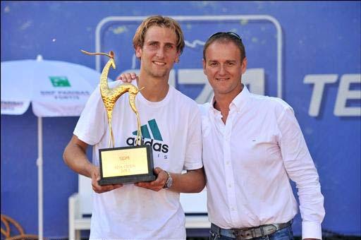 Thiemo De Bakker vainqueur du SDA Tennis Open