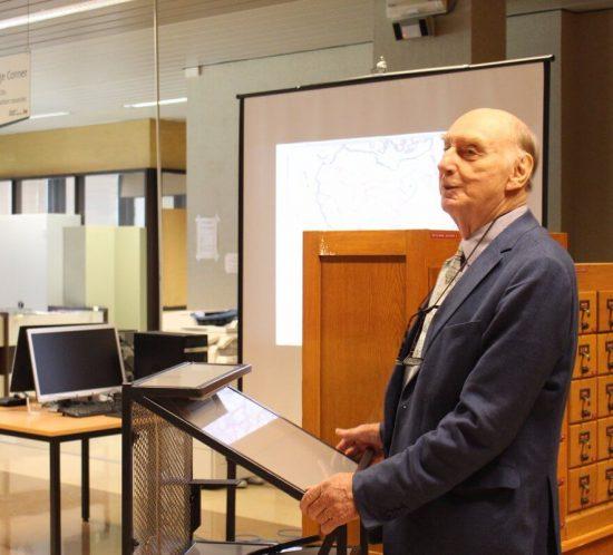 """Conférence de Wulf Bodenstein au MRAC, pour le lancement de """"Cartes géographiques d'Afrique"""""""